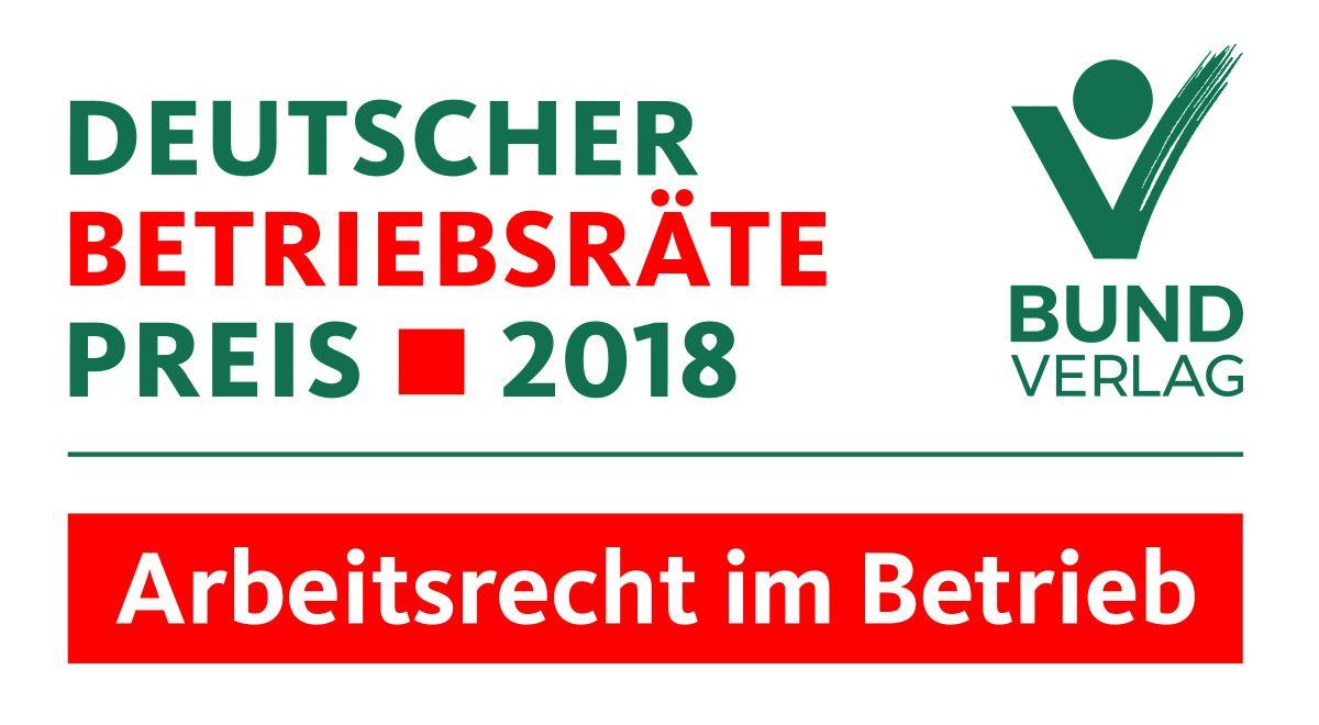 Deutscher Betriebsräte Preis 2018 Verliehen Verbraucher Und